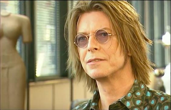 David Bowie video still