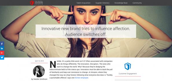 Natalie Smithson Digital Transformation People